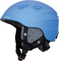 Шлем горнолыжный зимний Alpina Grap 2.0, цвет: голубой, черный. Размер 54-57 см