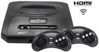 Игровая приставка Sega Retro Genesis HD Ultra 2 + 50 игр (2 беспроводных 2.4ГГц джойстика, HDMI кабель)