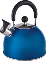 Чайник заварочный Endever со свистком 3 л, Нержавеющая сталь