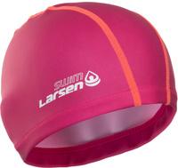 Шапочка для плавания Larsen Ultra, цвет: розовый