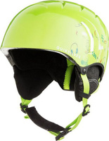 Шлем для горных лыж и сноуборда QUILSILVER GAME PACK B HLMT GJZ3, цвет: зеленый. Размер 52
