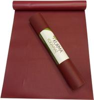 Коврик для йоги Wunderlich Planet Sadhana Lite, цвет: бордо, 185 х 66 см