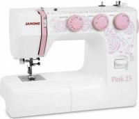 Швейная машина Janome 25, Pink