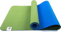 """Коврик для йоги RamaYoga """"Лотос Light"""", цвет: зеленый, 185 х 60 см"""