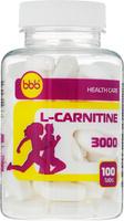 "Карнитин bbb ""L-Carnitine 3000 Tabs"", 100 таблеток"