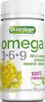 Добавка Quamtrax Omega 3-6-9, 60 капсул