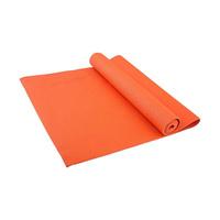 Коврик для йоги Starfit FM-101, УТ-00008832, оранжевый, 173x61x0,4 см