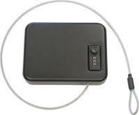 Сейф оружейный Меткон СА-1, автомобильный, черный, 20,3 х 15,2 х 4,4 см