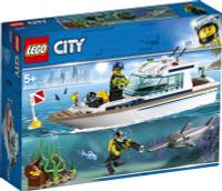 LEGO City Great Vehicles 60221 Яхта для дайвинга Конструктор