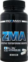 "ZMA Ironman ""Цинк-магний аспартат"", 60 капсул"