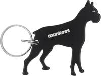 """Брелок-открывалка Munkees """"Боксер"""", цвет: черный"""