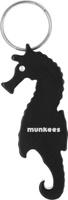 """Брелок-открывалка Munkees """"Морской конек"""", цвет: черный"""