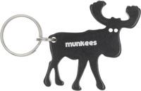 """Брелок-открывалка Munkees """"Лось"""", цвет: черный. 3473"""