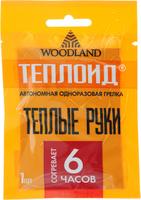 """Грелка одноразовая """"Woodland"""", цвет: оранжевый, 6 часов"""