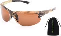 Очки солнцезащитные Norfin, для рыбалки, NF-FC2002, коричневый