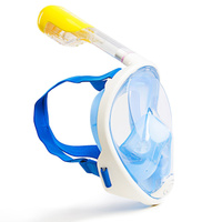 Маска для плавания Free Breath Ninja Mask, синий