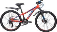 "Велосипед Novatrack Extreme, оранжевый, 24"", рама 11"""