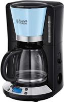 Кофеварка капельная Russell Hobbs Colours Plus, 24034-56, голубой