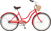 Велосипед городской Schwinn Scarlet, красный, 3 скорости