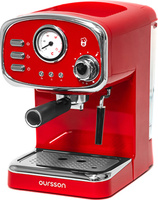 Кофеварка рожковая Oursson EM1505, Red
