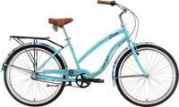 """Велосипед горный Welt Queen Al 3 2019, синий, коричневый, диаметр колес 26"""", размер рамы 18"""""""