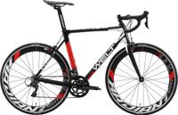 Велосипед шоссейный Welt R100 2019, черный, красный, белый, размер рамы 57 см