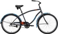 """Велосипед горный Welt King Steel One 2019, черный, синий, диаметр колес 26"""", размер рамы 18"""""""
