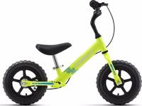 "Беговел детский Welt Zebra 12 2019, зеленый, диаметр колес 12"", размер рамы 18"""