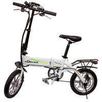Электровелосипед xDevice xBicycle 14 модель 2019 года, белый