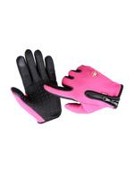 Перчатки горнолыжные MoscowCycling MC-GLOVE-03-L, розовый