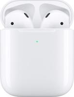 Беспроводные наушники Apple AirPods 2019 в зарядном футляре с беспроводной зарядкой, белый