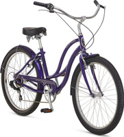 """Велосипед городской Schwinn ALU 7 Women, колесо 26"""", фиолетовый, 7 скоростей"""