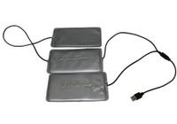 Греющий комплект Redlaika для любой одежды ГК3-USB