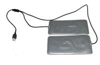 Греющий комплект RedLaika для любой одежды ГК2-USB
