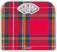 Напольные весы Scarlett SC-BS33M042, красный