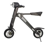Электровелосипед PROFFI AUTO Электросамокат SMART PA0532, складной, со встроенной Bluetooth-колонкой, с фонарем, с сигнализацией, с LCD дисплеем, черный, белый