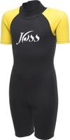 Гидрокостюм детский Joss Kidss Shorty Wetsuit, черный, размер 130/140