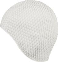 Шапочка для плавания Indigo Bubble, женская, цвет: белый