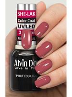 Лак для ногтей Alvin Dor SHE-LAK, тон 3529, 15 мл