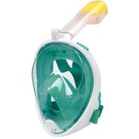 Маска для плавания  Free Breath L/XL, зеленый