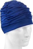Шапочка для плавания MadWave Lux Shower, 10005048, синий