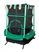 Батут SportElite 4,5FT 1,37м с защитной сеткой GB10101-4.5FT зеленый
