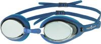 "Очки для плавания MadWave ""Vanish Mirror"", цвет: синий"