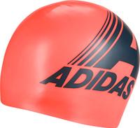 Шапочка для плавания Adidas Retro Graphic Cap, DY5180, красный