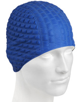 Шапочка для плавания MadWave Candy Bubble, M0516 05 0 03W, темно-синий