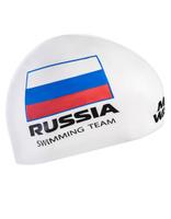 Шапочка для плавания MadWave Swimming Team, M0558 18 0 02W, белый