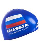 Шапочка для плавания MadWave Swimming Team, M0558 18 0 04W, синий