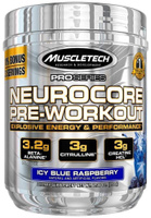 Предтренировочный комплекс MuscleTech Neurocore Pre-Workout, ежевика, 50 порций, 257 г