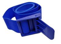 Пояс для подводной охоты, кардура, пластиковая пряжка, 150см, синий