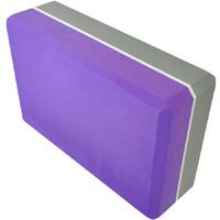 Блок для йоги полумягкий 2-х цветный 223х150х76мм., из вспененного ЭВА